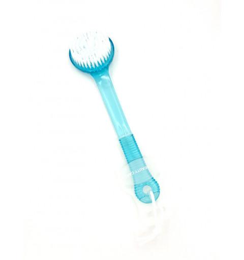 Massage/Duschborste i blått 1-p