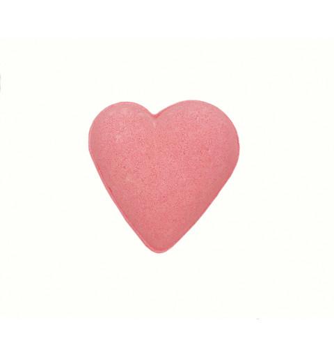 Badbomb i form av ett hjärta i rosa 1-p