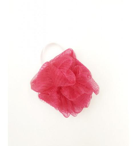 Ansiktsrengöringspuff rosa