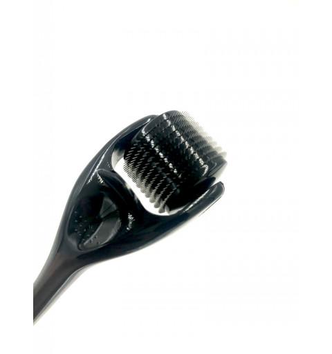 Derma Roller 1.5 mm anskit behandling i svart kollagenbildning förnyar huden