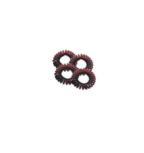 Spiralsnoddar 4-pack Bruna Mini telesnoddar bruna barn