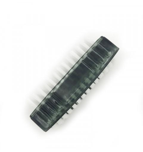 Nagelborste dubbelsidig svart 1-p