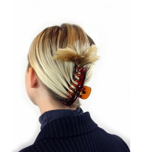 Stor hårklämma