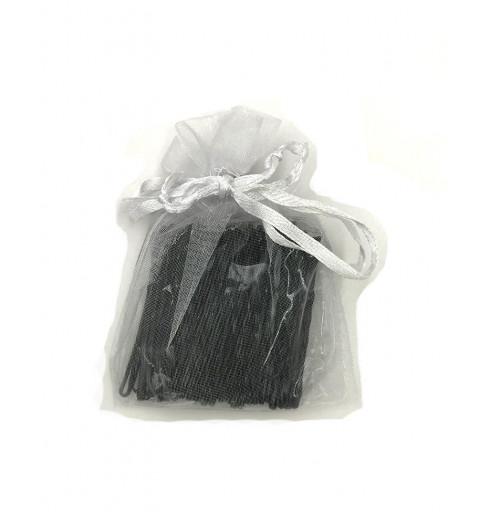 Svarta hårnålar stor pack 75p