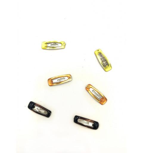 Mini hair clips 6P