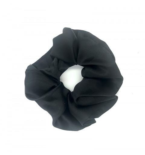 Scrunchie satin svart