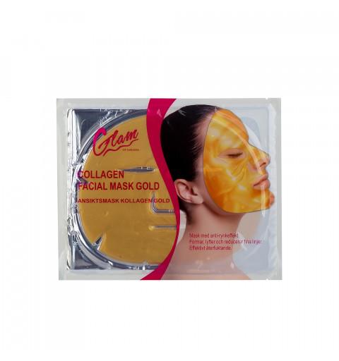 Ansiktsmask Guld