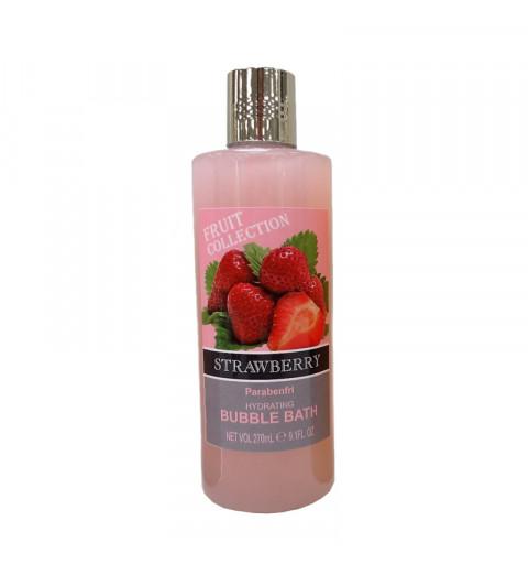 Badskum med jordgubbsdoft