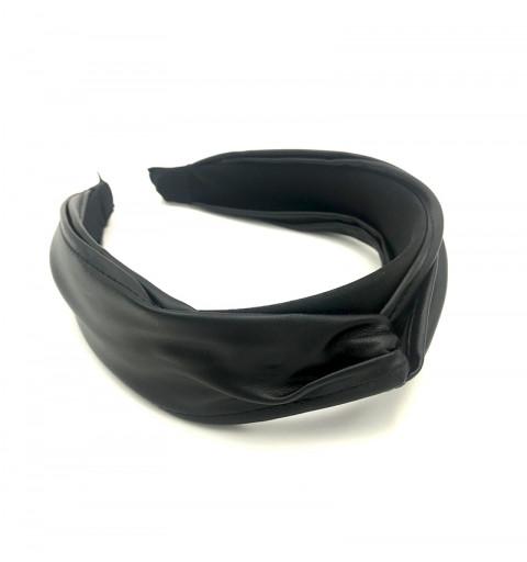 Diadem med knut läderimitation