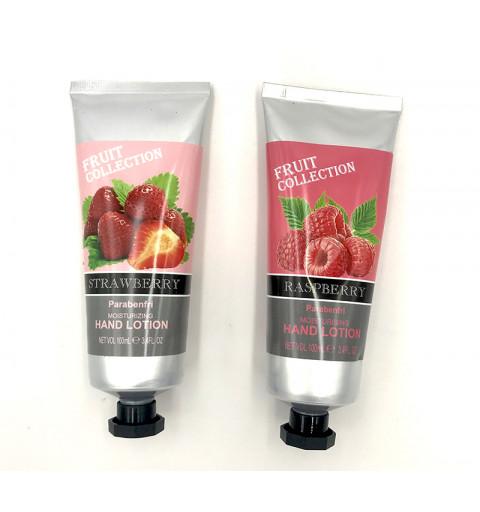 Handkräm hallon och jordgubbe
