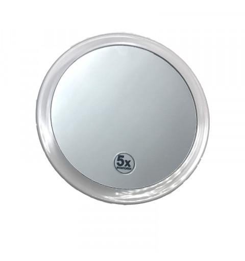 Make up spegel med sugproppar för uppsättning ex. vis på glasytor och förstoring X 5